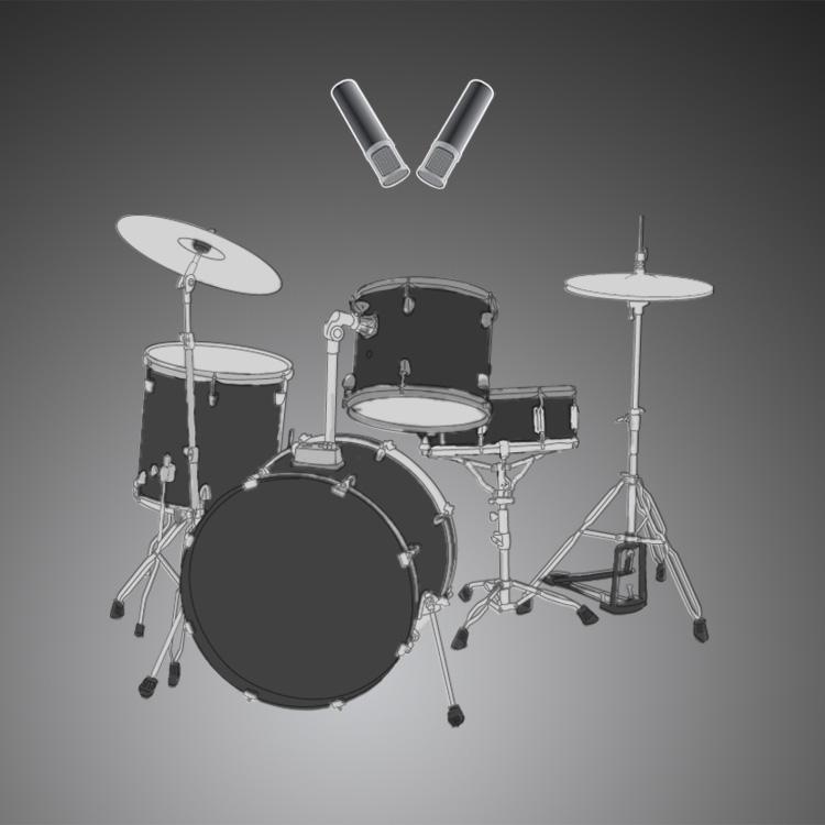 miking drums and percussion how to mic drums and percussion. Black Bedroom Furniture Sets. Home Design Ideas