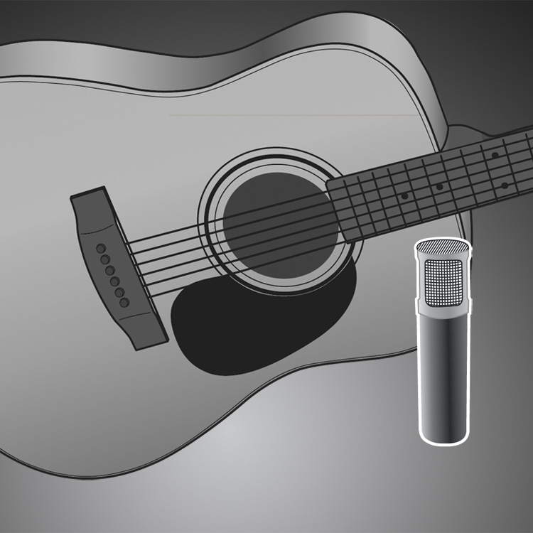 Miking Acoustic Guitar How To Mic An Acoustic Guitar
