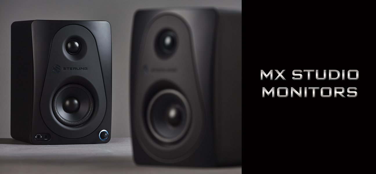 Sterling Audio MX Studio Monitors