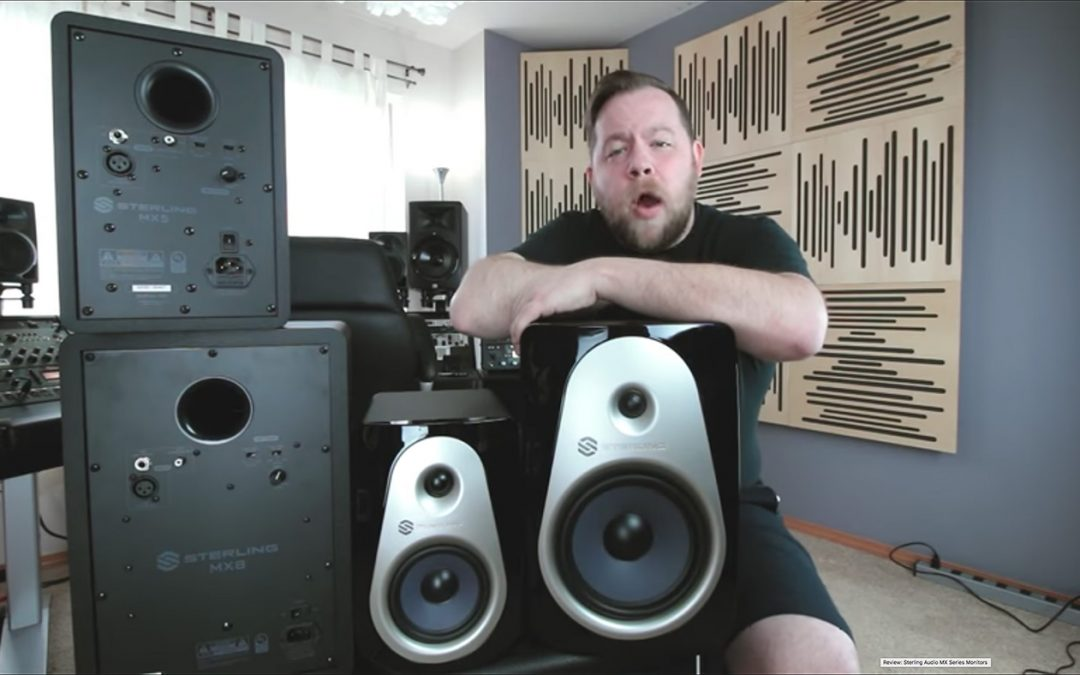 Review of Sterling Audio MX Monitors by Ryan Bruce