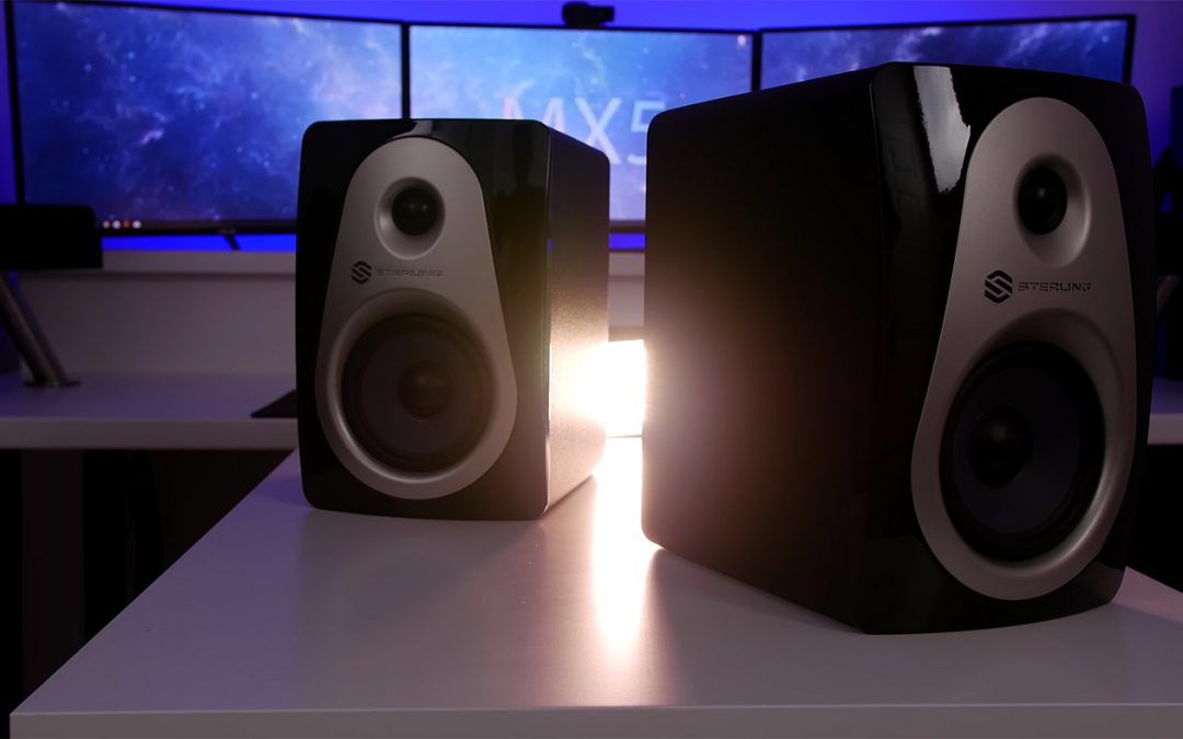Video Review of Sterling Audio MX5 Monitor from The Raw View