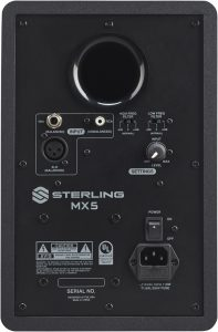 Sterling MX5 Black Monitors