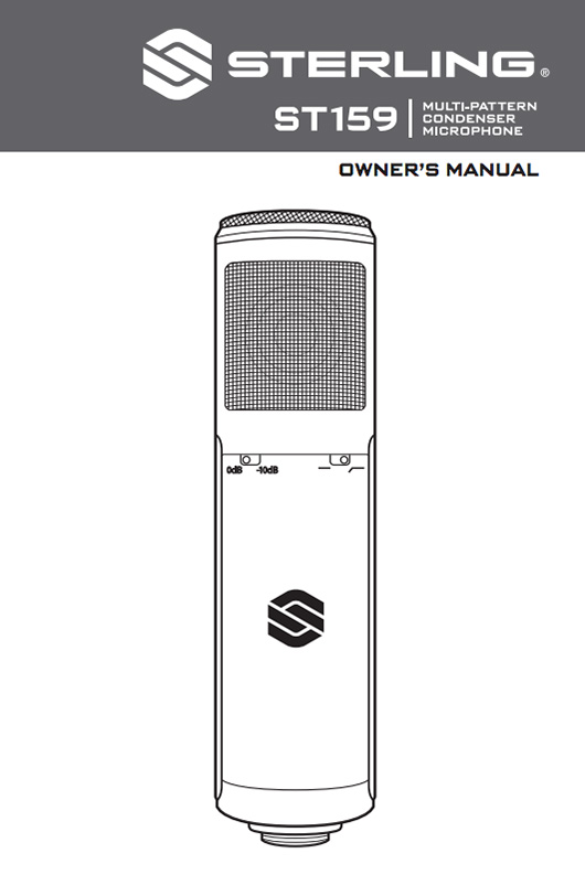 Sterling ST159 Manual