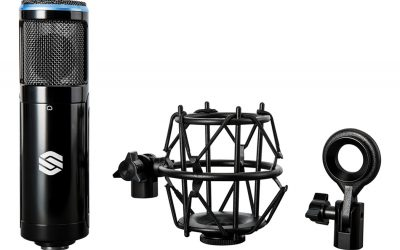 Sterling Unveils the Versatile SP150SMK Condenser Microphone Kit with Shockmount