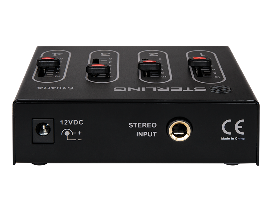 Sterling S104HA Compact 4-Channel Headphone Amp