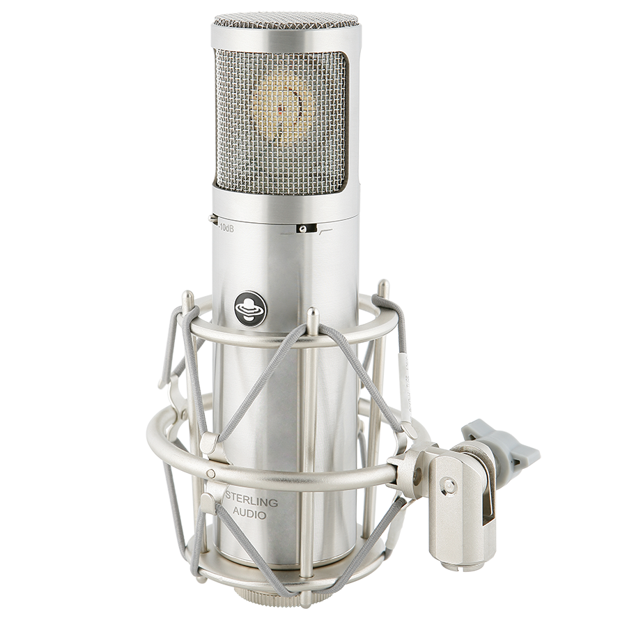 Sterling ST69 Class-A Tube Condenser Microphone with Shockmount
