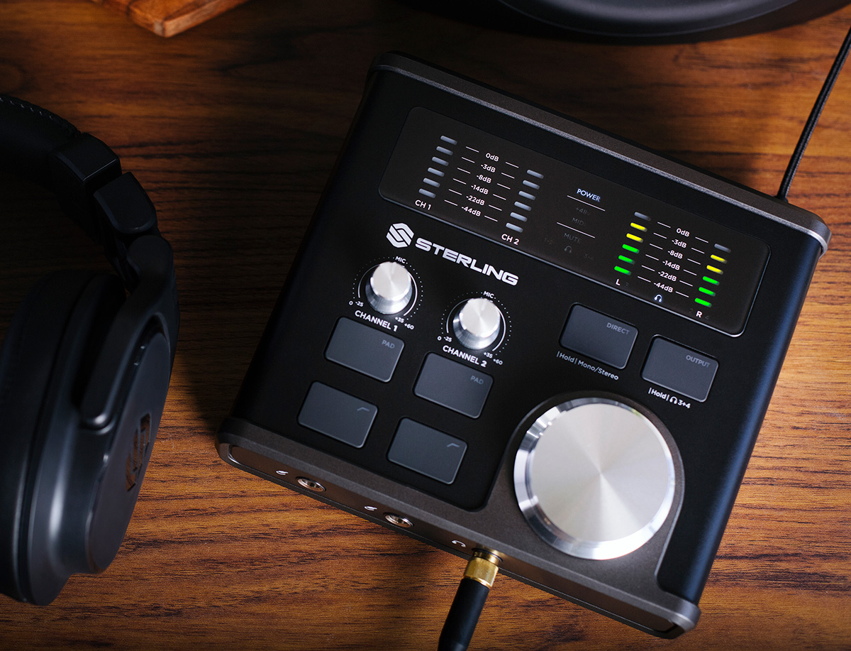 Sterling Harmony H224 Audio Interface